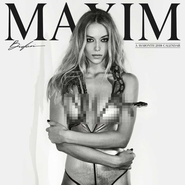 Maxim Mini Wall Calendar, Adult Models by Calendars