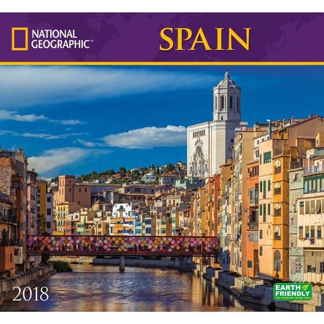 Spain NG Wall Calendar, More Europe by Calendars