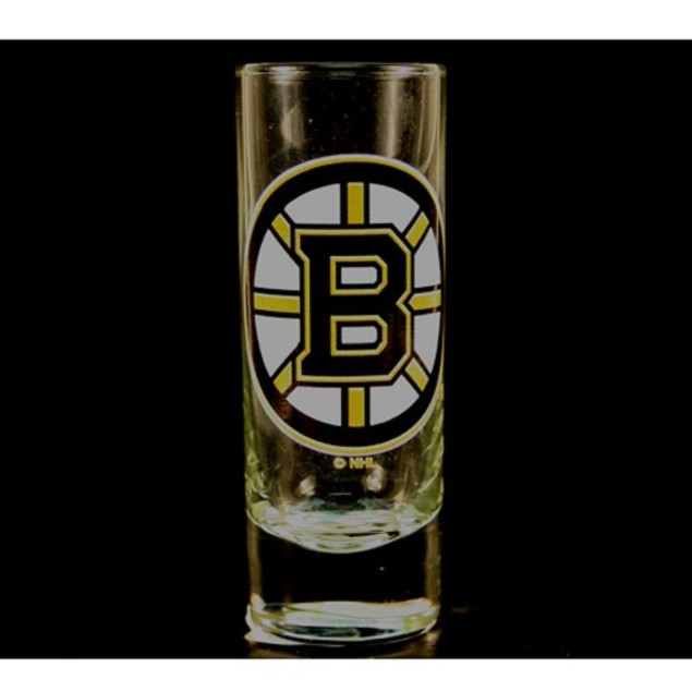 "Boston Bruins NHL ""Hype"" Tall Shot Glass"