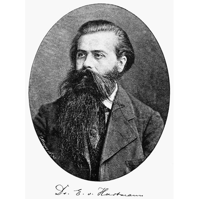 Eduard Von Hartmann /N(1842-1906). German Philosopher. Photographed In 1884