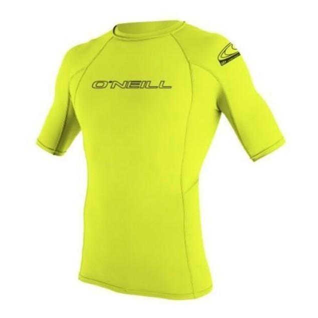 O'Neill Wetsuits UV Sun Protection Youth Basic Skins Short Sleeve SZ 8
