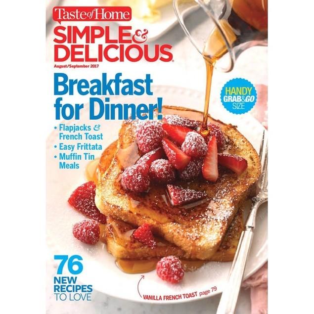 Simple & Delicious Magazine Subscription