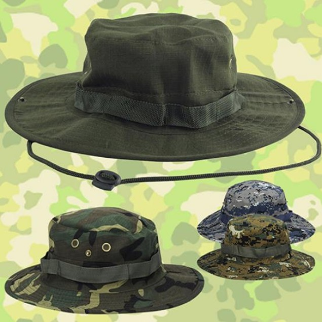 Woodland Fishing Hiking Travel Sun-proof Boonie Hat