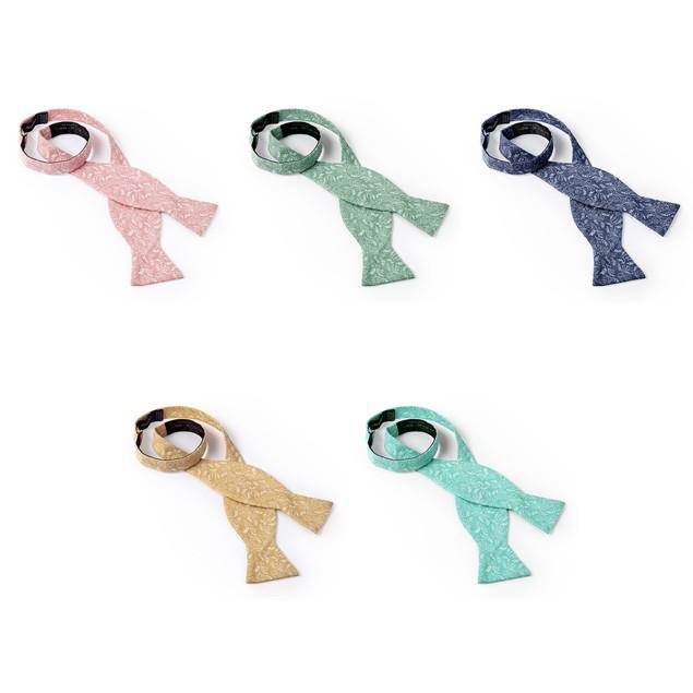 Jacob Alexander Variety Pack Men's Floral Self-Tie Bow Ties - 5 Piece Set