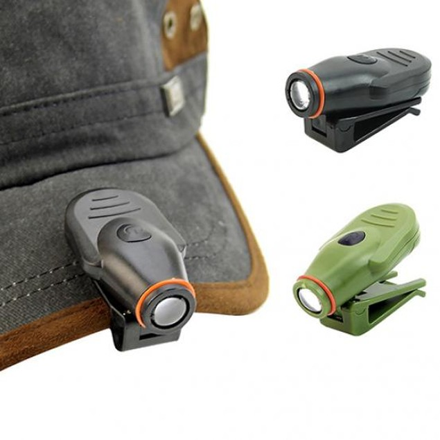 Bright Clip-On LED Cap Light Torch