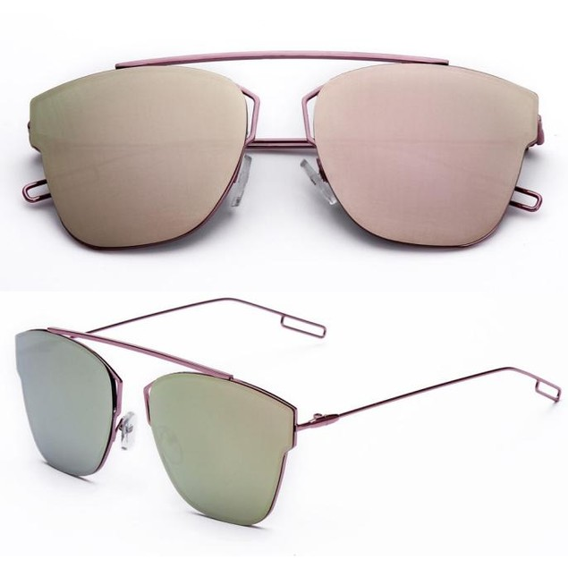 Metal Reflection Mirror Frame From Lens Sunglasses Glasses