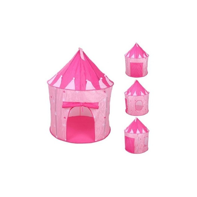 Portable Pop up Princess Play Tent Cubby Kid Children Toy storage