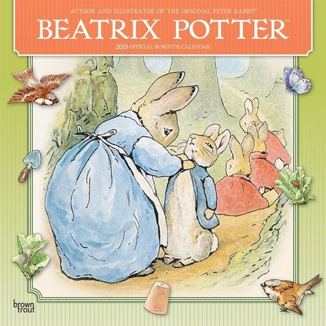 Beatrix Potter Wall Calendar, Family Movies by Calendars