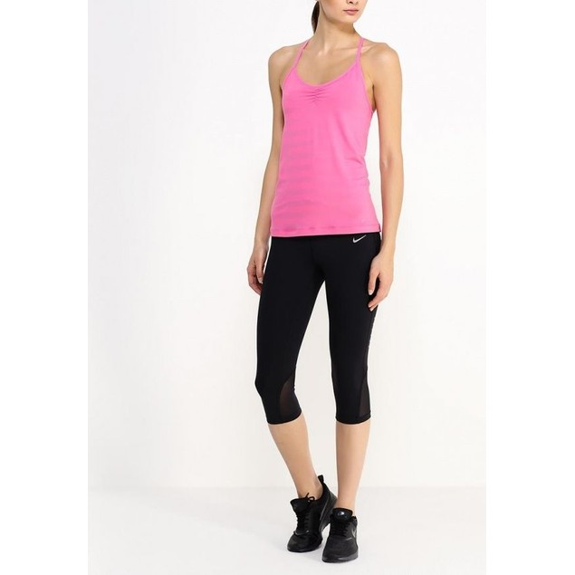 Women's Nike Indy Striped Tank Top Dri-fit Pink 694369 627  Sz : XS