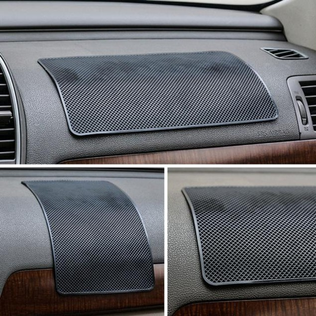 Car Anti-Slip Dashboard Sticky Pad Non Slip Mat Sunglass Holder
