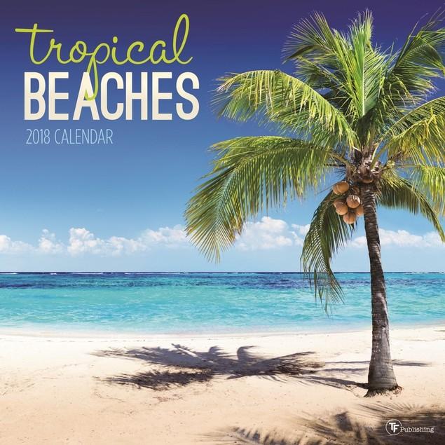 Tropical Beaches Wall Calendar, Beaches by Calendars