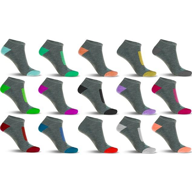 10-Pairs Mystery Deal: Ladies Performance DRI-99 Cushioned Low-Cut Socks