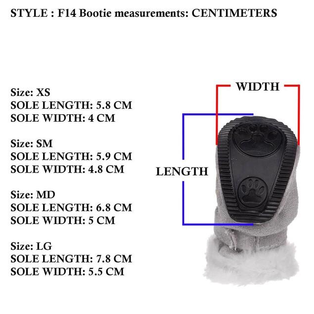 Flexible Air-Mesh Lightweight Pet Shoes Sneakers - Set of 4