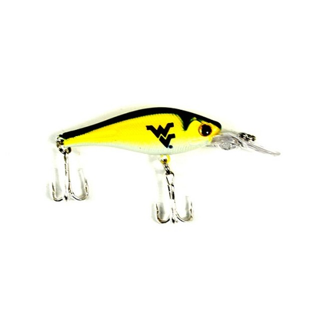 West Virginia Mountaineers NCAA Minnow Fishing Lure