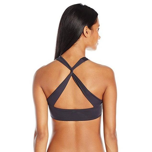 NWT Billabong Women's Sol Searcher Hi Neck Bikini Top SZ: LARGE