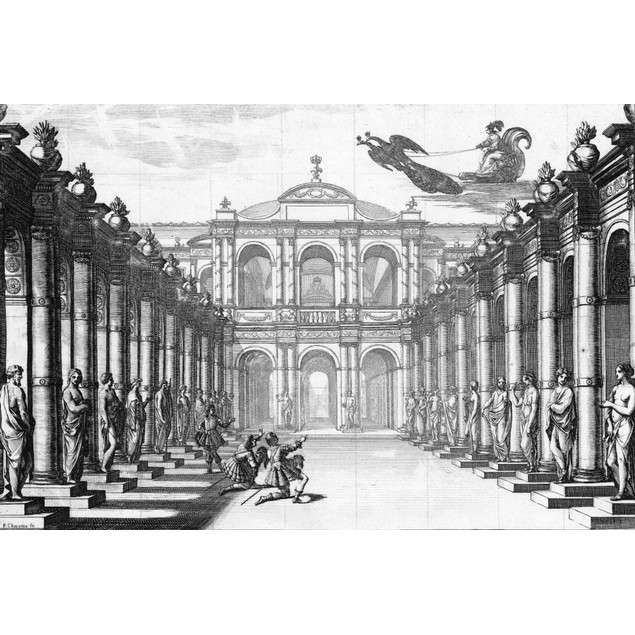Theatre: Andromede, 1650. /Nthe Set For Act 4 Of 'Androm_De' By Pierre Corn