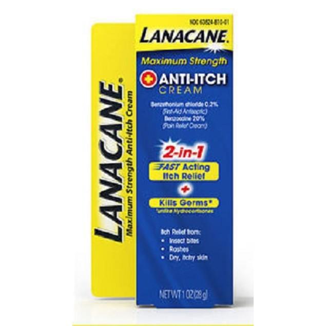 Lanacane Anti-Itch Cream