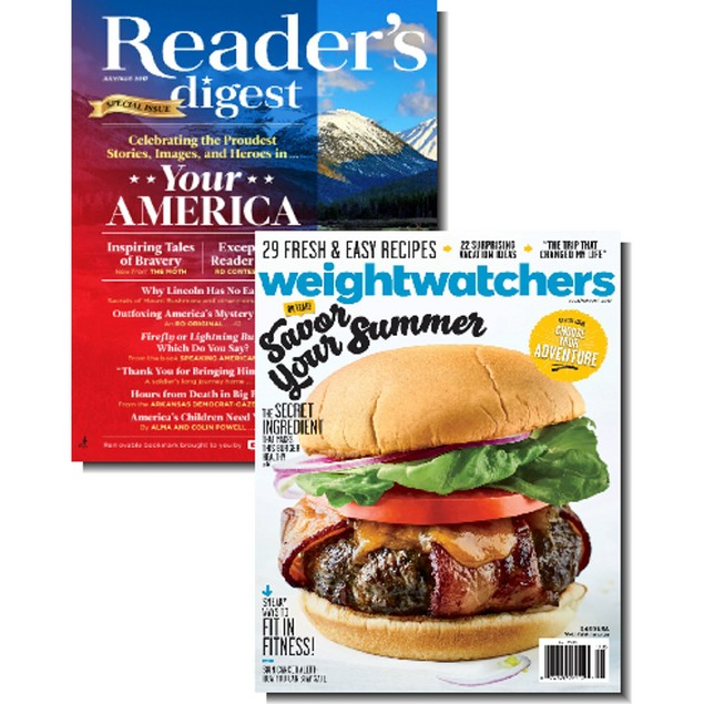 Weight Watchers & Reader's Digest Bundle