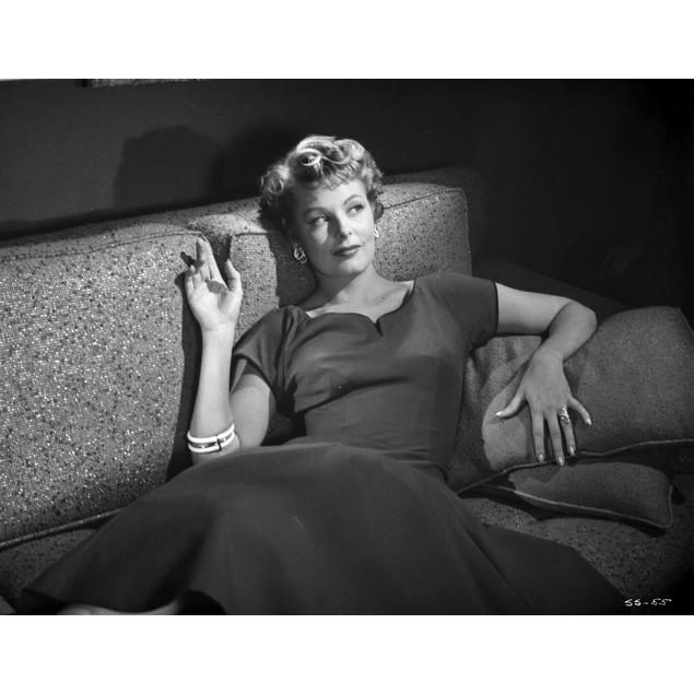 Arlene Dahl Reclining in Classic Poster