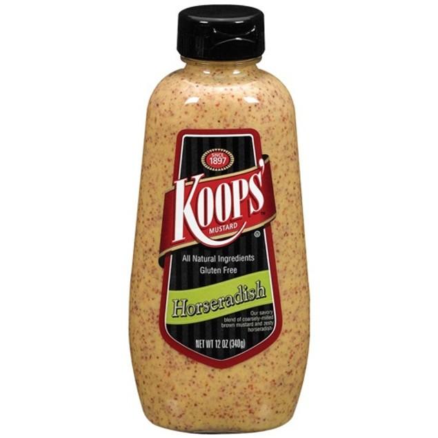 Koops Gluten Free Horseradish Mustard