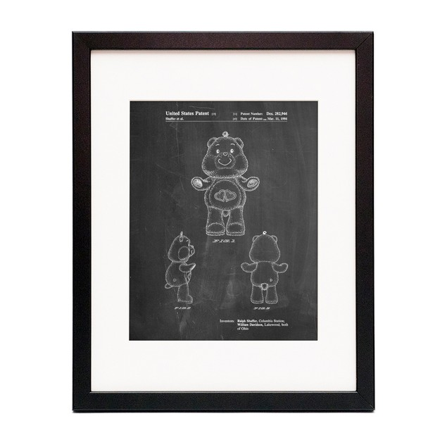 Love A Lot Care Bear Patent Poster