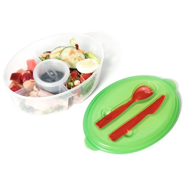 Fresh Salad on The Go Container
