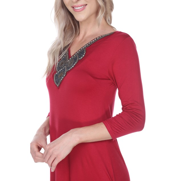 Luna Tunic Top - 7 Colors - Extended Sizes