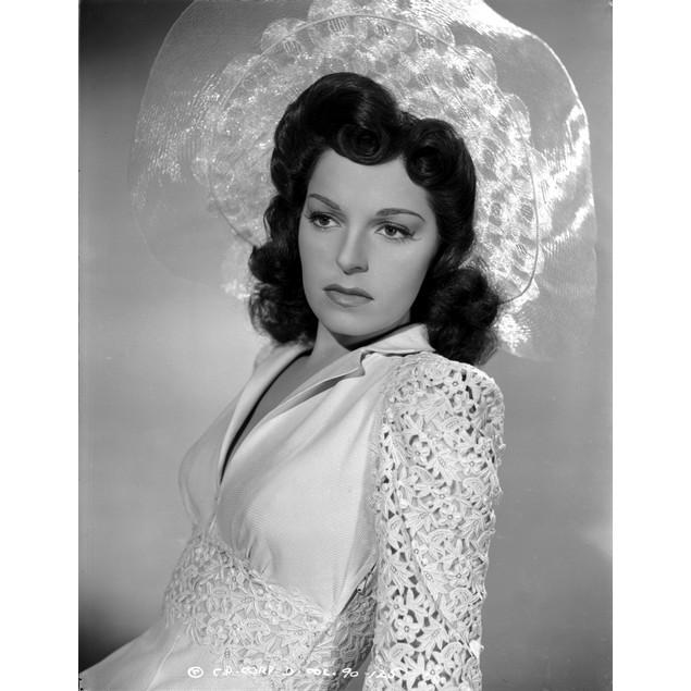 Joan Merrill wearing a Well Design Blouse in a Portrait Poster