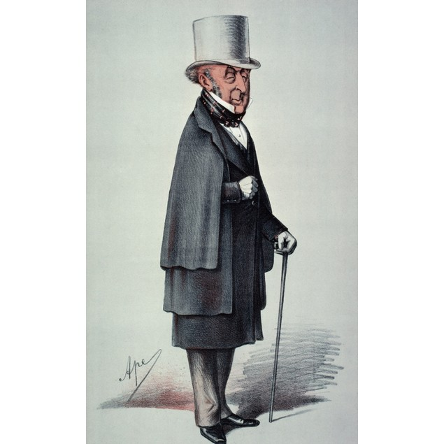 Roderick Impey Murchison (1792-1871). Scottish Geologist. Caricature By Car
