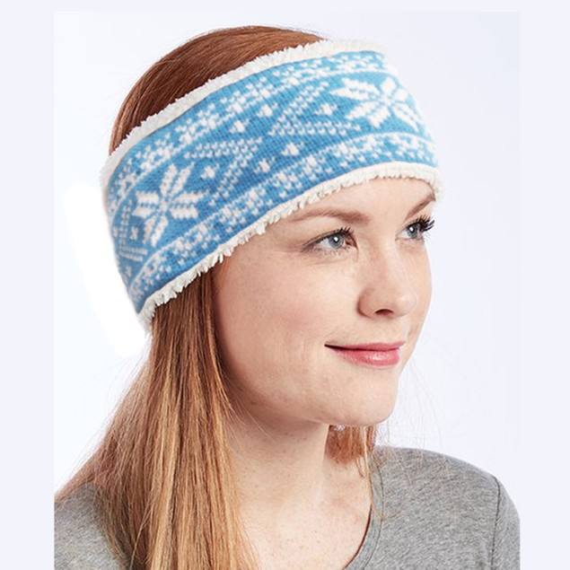 Polar Extreme Women's Cozy Insulated Sherpa Lined Headband