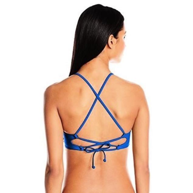 Body Glove Women's Smoothies Mika Halter Triangle Swimsuit Bikini Top