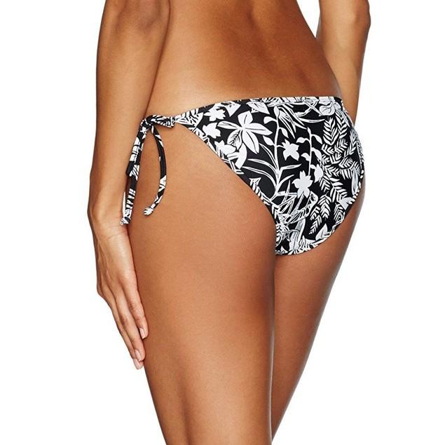 Volcom Women's Branch Out Full Bikini Bottom, Black, XL