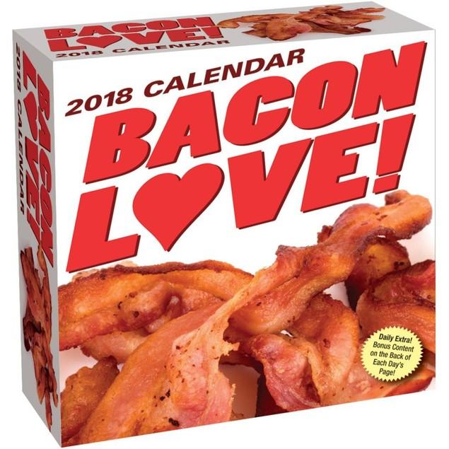 Bacon Love Desk Calendar, Cooking by Calendars