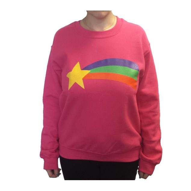 Mabel Pines Rainbow Crew Neck Sweatshirt