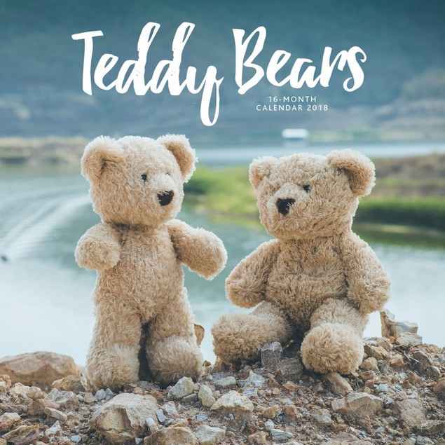 Teddy Bears Wall Calendar, Entertainment by Vista Stationery & Print Ltd