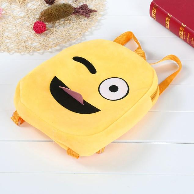 Cute Emoji Emoticon Shoulder School Child Bag Backpack Handbag