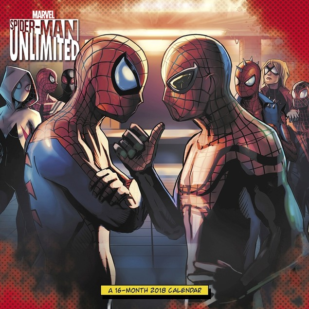 Spiderman Unlimited Wall Calendar, Gamers by Calendars