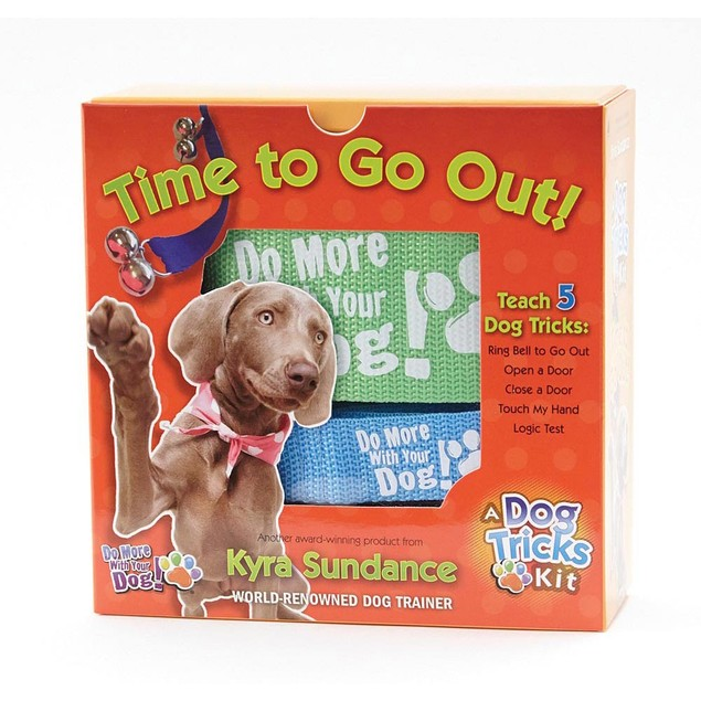 Time to Go Out Dog Tricks Set, Dog Training by Quarry Books