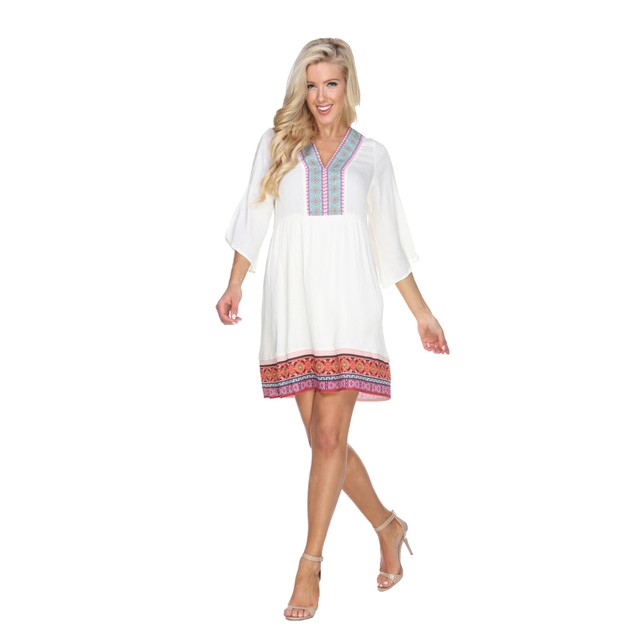 Gabrielle Embroidered Dress - 3 Colors