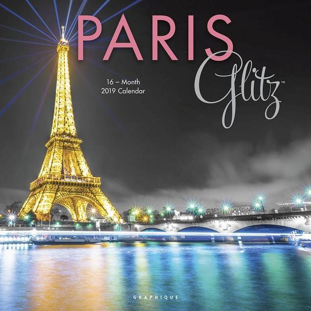 Paris Glitz Wall Calendar, France by Calendars