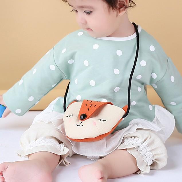 Baby Fox Fashion Backpacks Cute Storage Bag Single Shoulder Bag