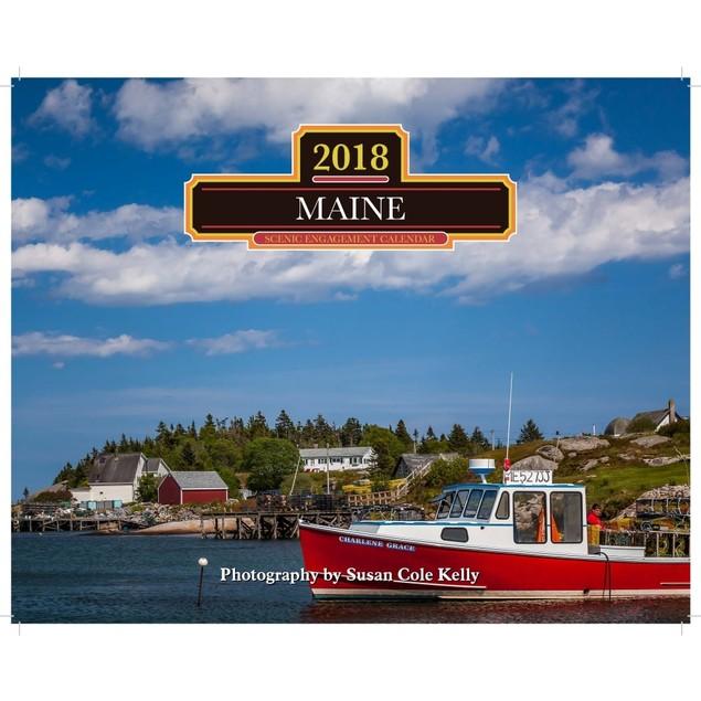 Maine Wall Calendar, Maine by Calendars