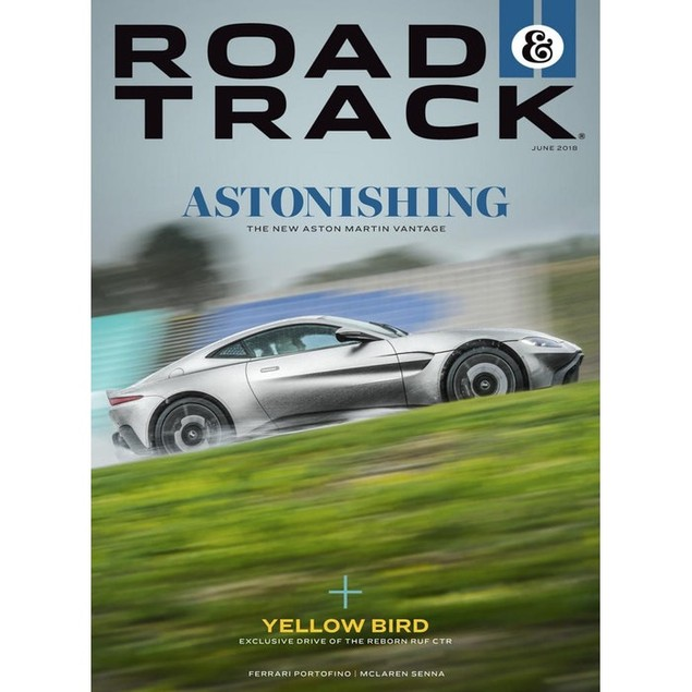 Road & Track Magazine Subscription