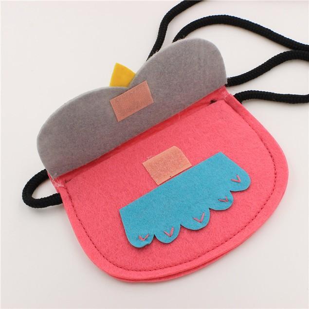 Baby Girl Owl Fashion Backpacks Cute Storage Bag Single Shoulder Bag