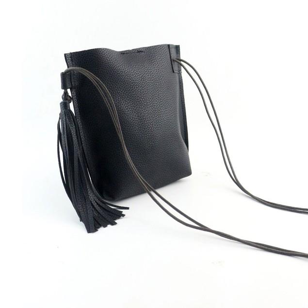 Women Retro Envelope Handbag Tassel Shoulder Bag Large Tote Ladies Purse