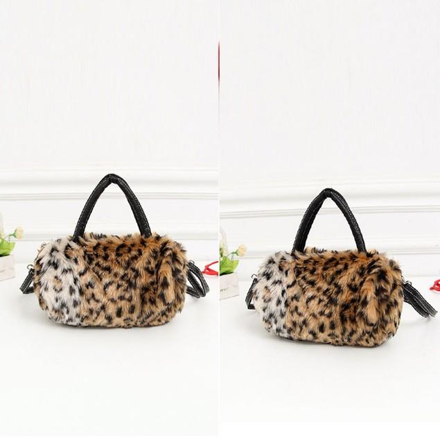 Women Leopard Shoulder Bag Satchel Crossbody Tote Handbag