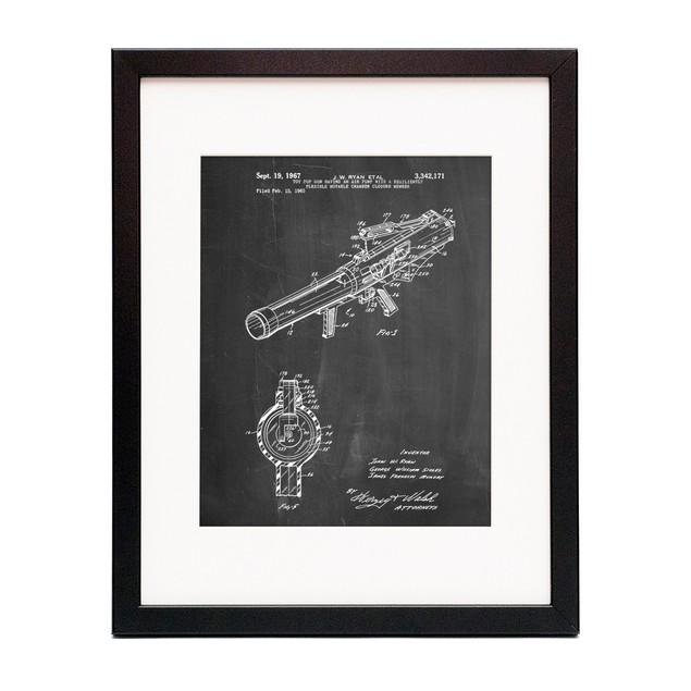 Toy Pop Gun Patent Poster