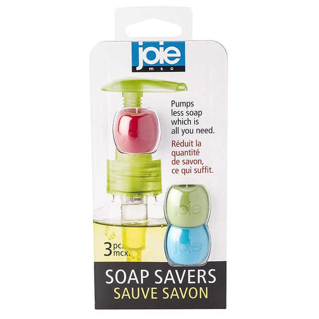 Joie Soap Saver, Silicone, Set of 3, 2-Inches x 1-Inches