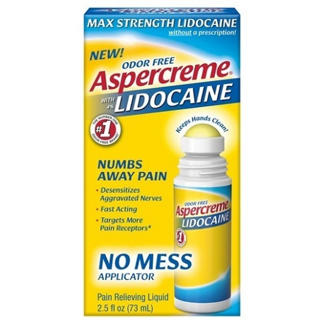 Aspercreme with Lidocaine No Mess Applicator