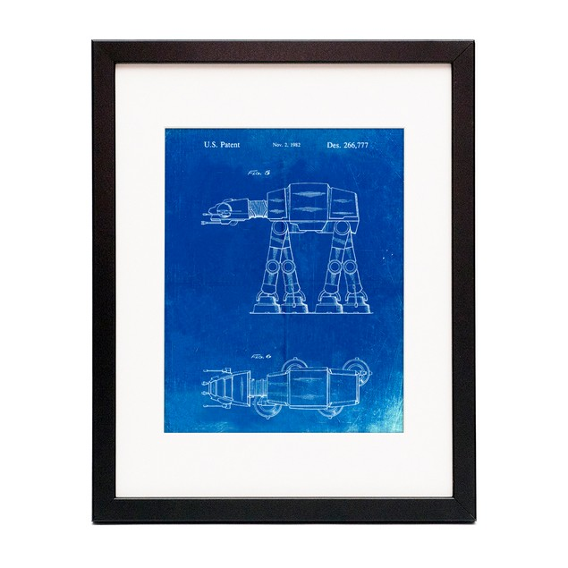 Star Wars AT-AT Imperial Walker Patent Poster